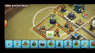 New clan war leagues TH12 war base with new design anti 3 star.... Clash of clans