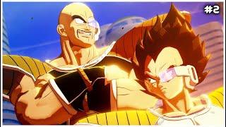 Vegeta y Nappa llegan a la Tierra - Directo #2 - Dragon Ball Z Kakarot