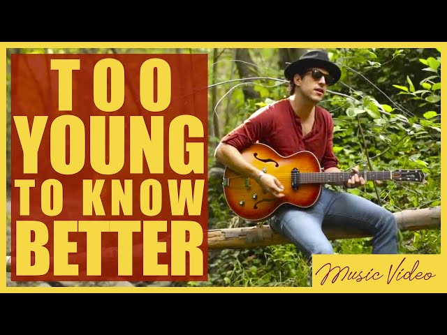 /// David Rosales - Too Young to Know Better [Official Music Video]