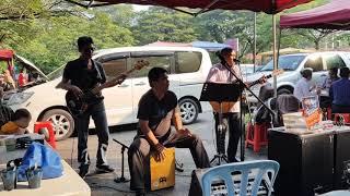 Melodi buskers enak sekali didengar BERPISAH JAUH ahmad jais