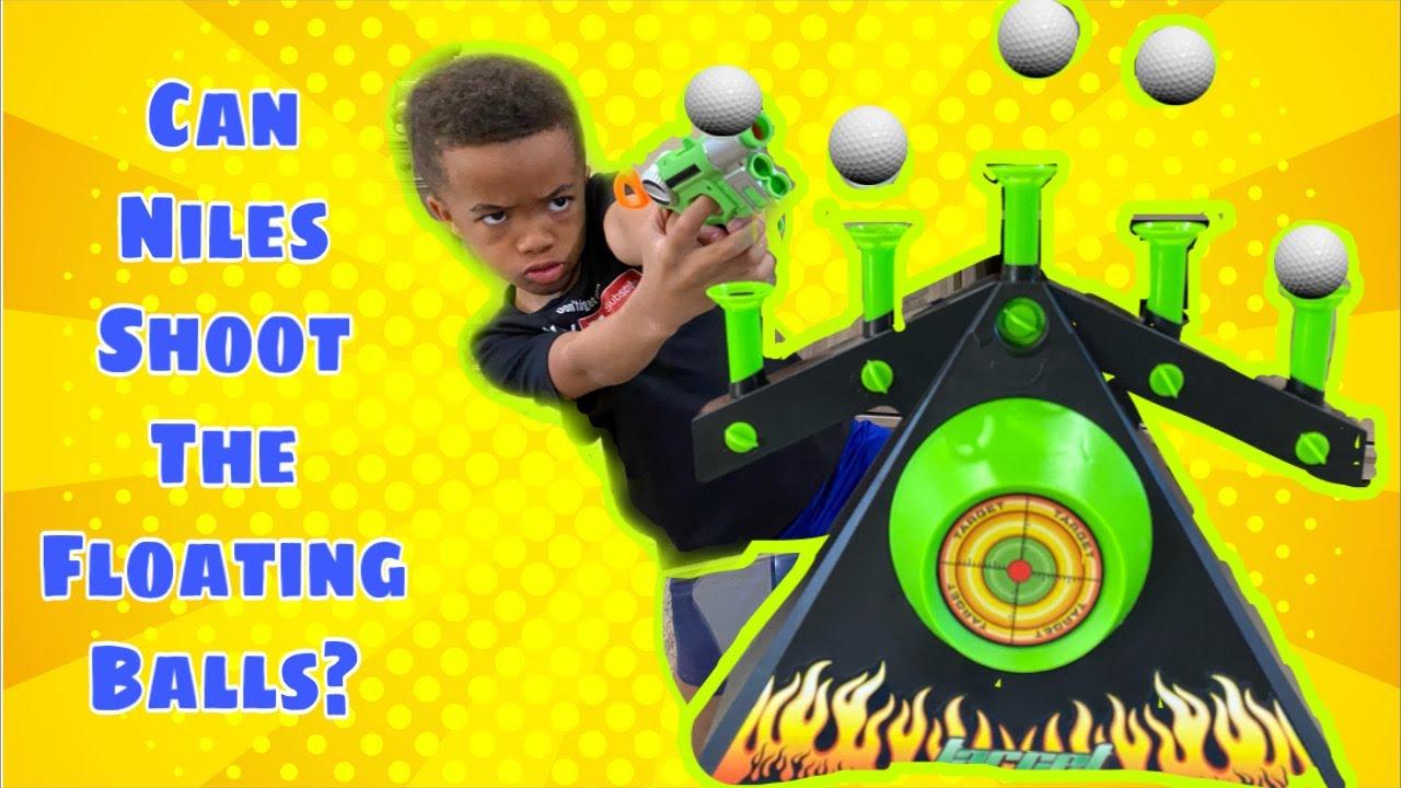 Floating Balls Shooting Challenge | Hover Shot Floating Balls Game