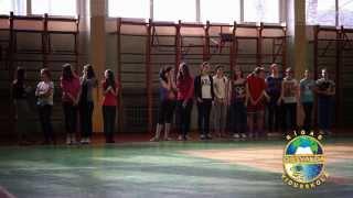 Соревнования по гандболу среди девочек. [07.03.14.]