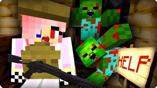 Последняя выжившая девушка [ЧАСТЬ 1] Зомби апокалипсис в майнкрафт! - (Minecraft - Сериал)