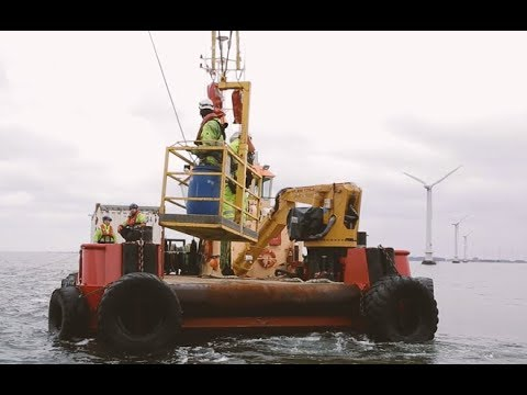 Decommissioning Vindeby Offshore Wind Farm - the world's first offshore wind farm