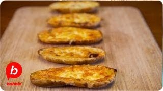 How to Make Super Bowl Queso Fundido Potato Skins with Chorizo  Viva Food  Babble