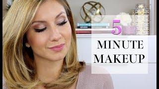 My Go To 5 Minute (or less) EYE Makeup Tutorial