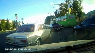 Авария 15 09 2016 Харьков проспект Гагарина