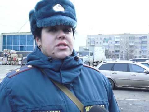 Пожар в торговом центре в Каменске-Уральском.