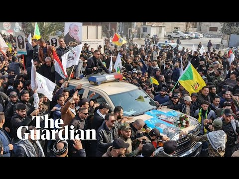 Thousands march in Baghdad funeral procession for Qassem Suleimani