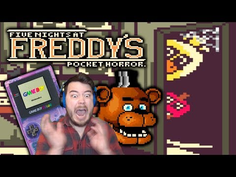 FNAF ON GAME BOY COLOR?! | Five Nights at Freddy's: Pocket Horror thumbnail