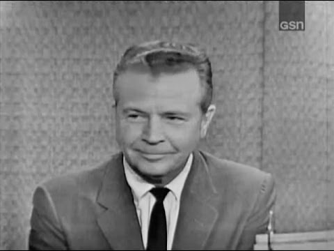 What's My Line? - Dick Powell; Art Linkletter [panel] (Sep 17, 1961)