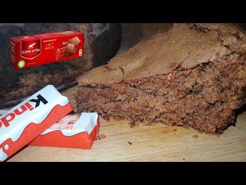 meilleur-gâteau-au-chocolat-au-lait-/-kinder-maxi