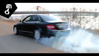 Mercedes Benz C300 (W204) Тест-драйв; zhmuraTV