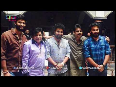 Pawan Kalyan with His Fans on the sets of KatamaRayudu Movie #KatamaRayudu