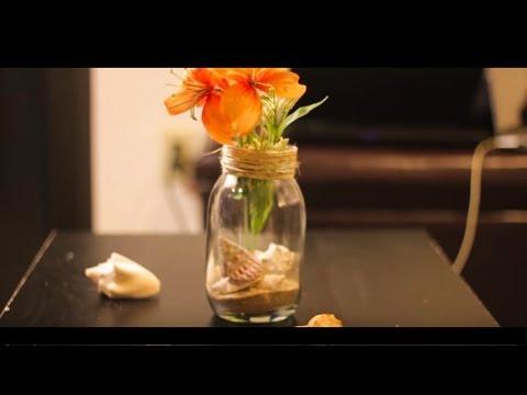 Como hacer un centro de mesa para tu boda vintage - Centro de mesa rustico ...