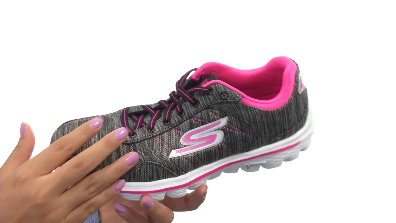 8e76ee818a4421 SKECHERS Performance Go Walk 2 - Flash Linear SKU 8556226 - YouTube