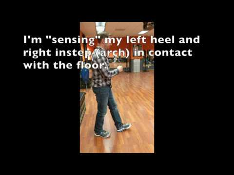 Left Heel and Right Arch Sensory Information