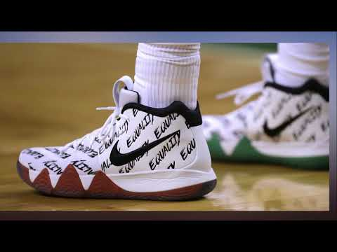 NBA players step tow ard equality in limited edition sneakers