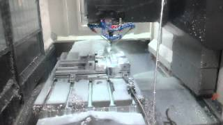 High Speed milling of aluminium alloys CNC