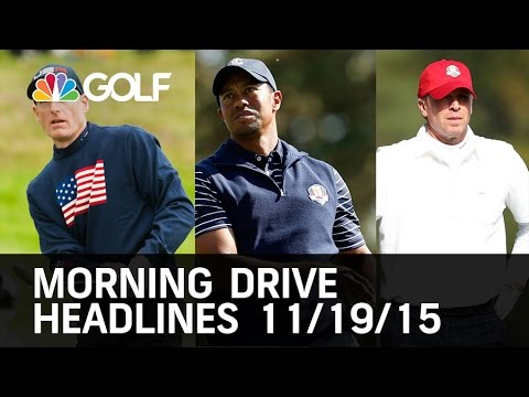 Morning Drive Headlines 11/19/15  | Golf Channel
