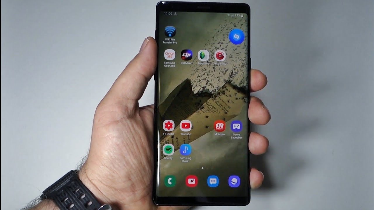 How To Set Any Video As Home Screen Wallpaper On Note 9 Or On Any Android Youtube