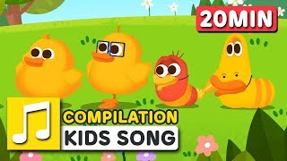 ITSY BITSY SPIDER AND SONGS FOR KIDS | COMPILATION  | Nursery Rhymes | LARVA KIDS Songs for Children