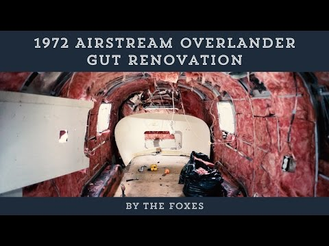 1972 Airstream Overlander DIY Renovation | The Foxes Photography