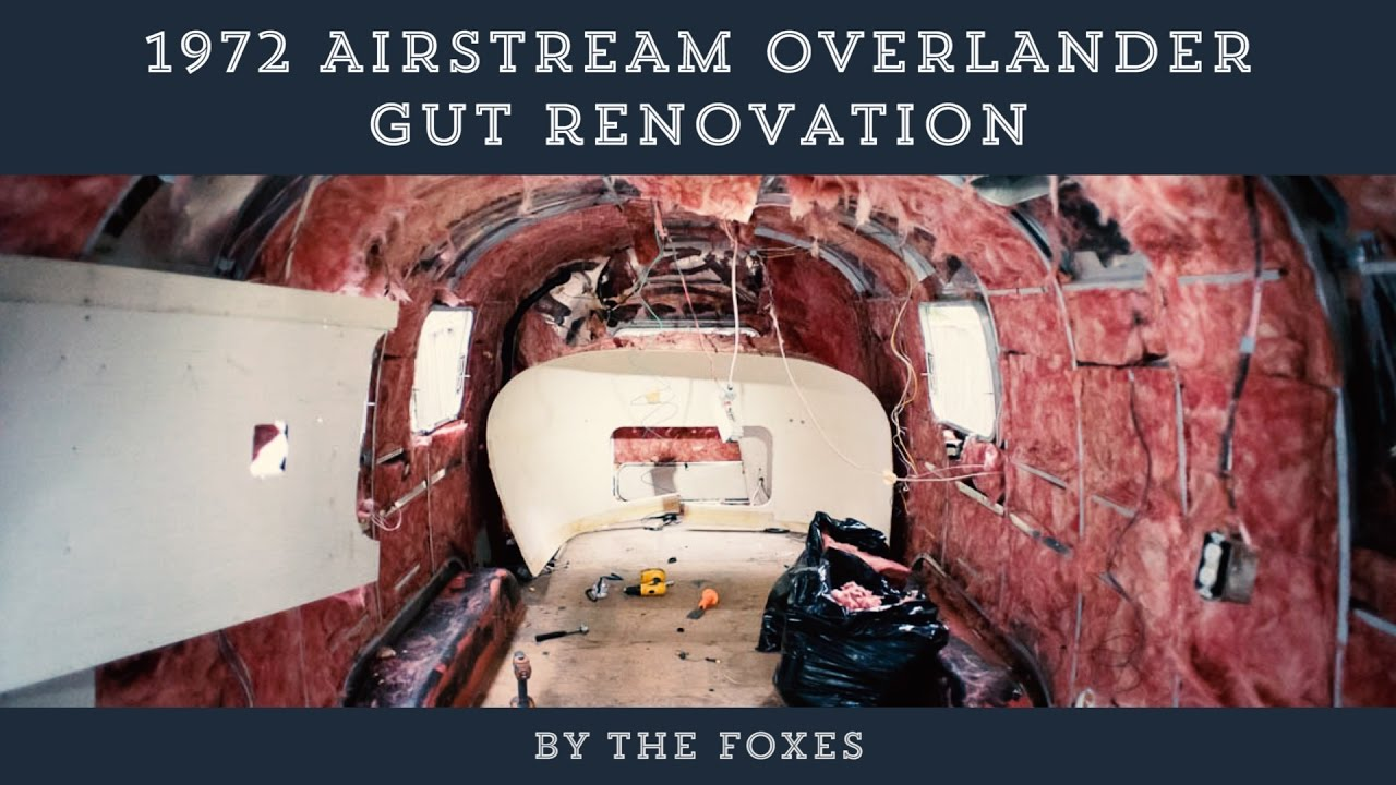 1972 Airstream Overlander Diy Renovation The Foxes Photography Wiring Diagrams