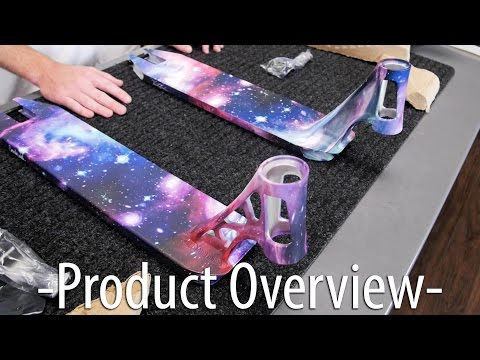 Fasen Limited Edition Galaxy Decks - Unboxing │ The Vault Pro Scooters