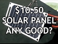 10.50 USB Solar Panel. Is it any good