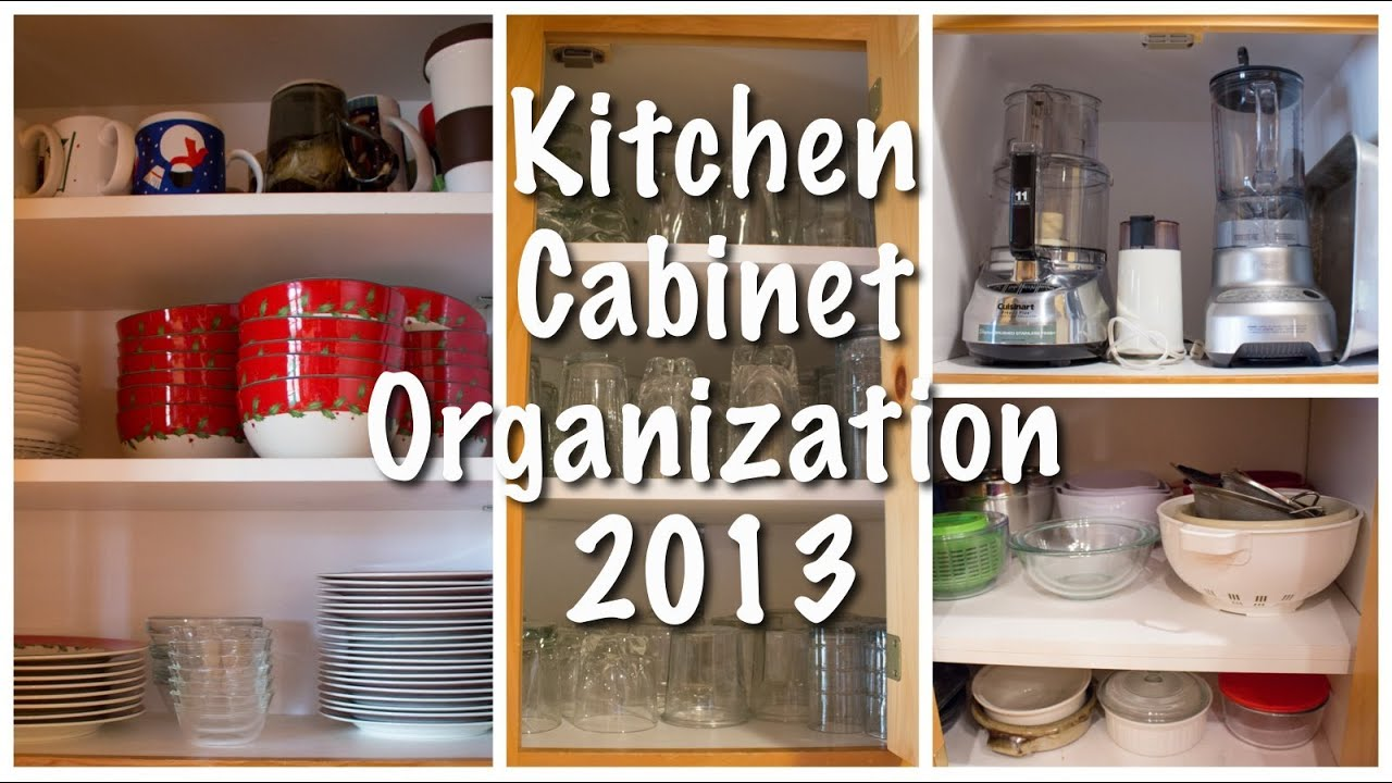Kitchen Cabinet Organization (Kitchen Series 2013) - YouTube