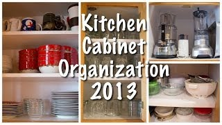 Kitchen Cabinet Organization (kitchen Series 2013)