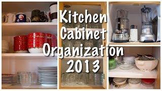 Kitchen Cabinet Organization (Kitchen Series 2013)