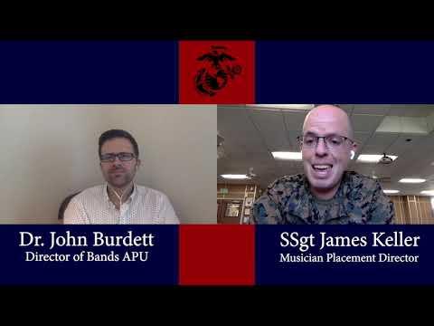 Marine Music Interview: Dr. John Burdett Director of Bands APU