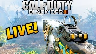 "Black Ops 3 Multiplayer: ""MY FIRST GAME!"" BO3 Live Multiplayer Gameplay w/ Unknown Player"