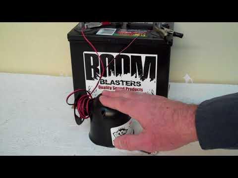 Black Crow Bird Sounds Car Horn1 Wireless