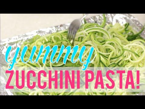 100 Calorie Healthy Zucchini Pasta!