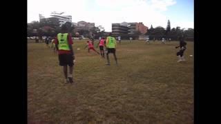 Agility Training For Victoria Soccer Academy Kenya