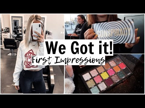 Weekend VLOG: Conspiracy Palette, new hair, & healthy grocery haul