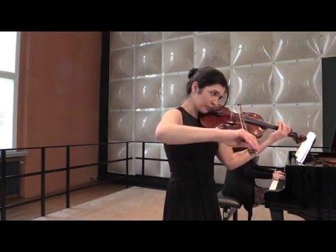 Rimma Benyumova - M.Ravel Violin Sonata No. 2 Movt. I