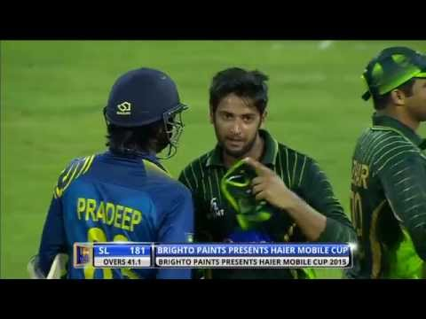 Highlights: 3rd ODI at Colombo, RPICS – Pakistan in Sri Lanka 2015