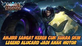 SUARA DAN ARTINYA SKIN LEGEND ALUCARD || MOBILE LEGENDS