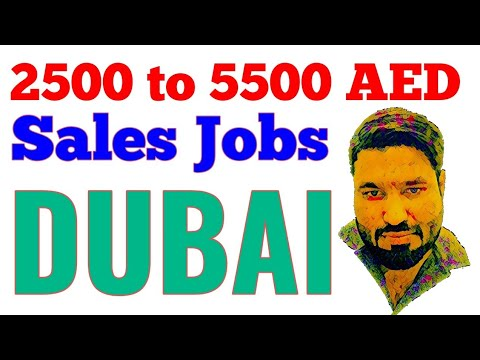 Sales Job Salary 2500 to 5500 Dirham || Jobs in Dubai || Azhar Vlogs