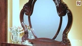 Melania - Italian Classic 5pc Bedroom Set Vgaccmelania