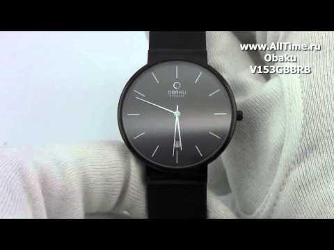 Мужские наручные часы Obaku V153GBBRB