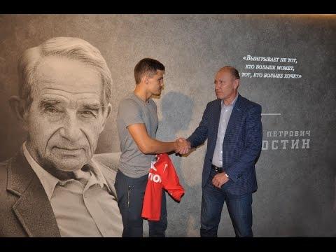 Презентация Романа Зобнина в музее «Спартака»