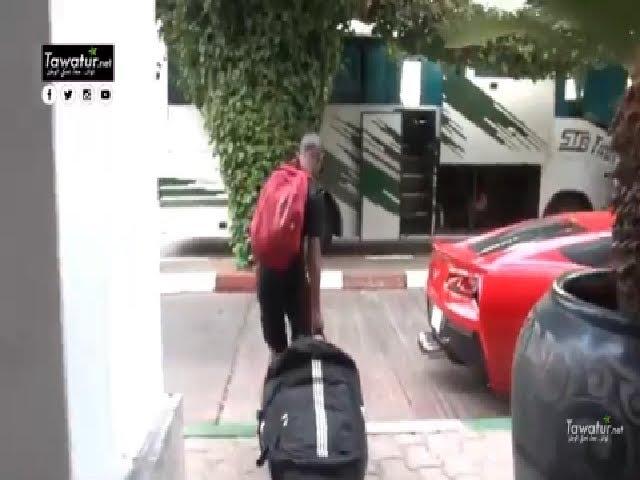 وصول المنتخب الوطني الموريتاني للشباب الى اسبانيا