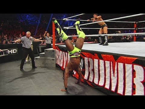 Kofi Kingstons miraculous Royal Rumble Match saves