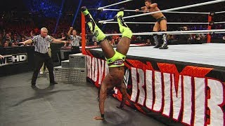 Watch the jaw-dropping athleticism and ingenuity of Kofi Kingston's incredible saves during the Royal Rumble Match. More ACTION on WWE NETWORK ...
