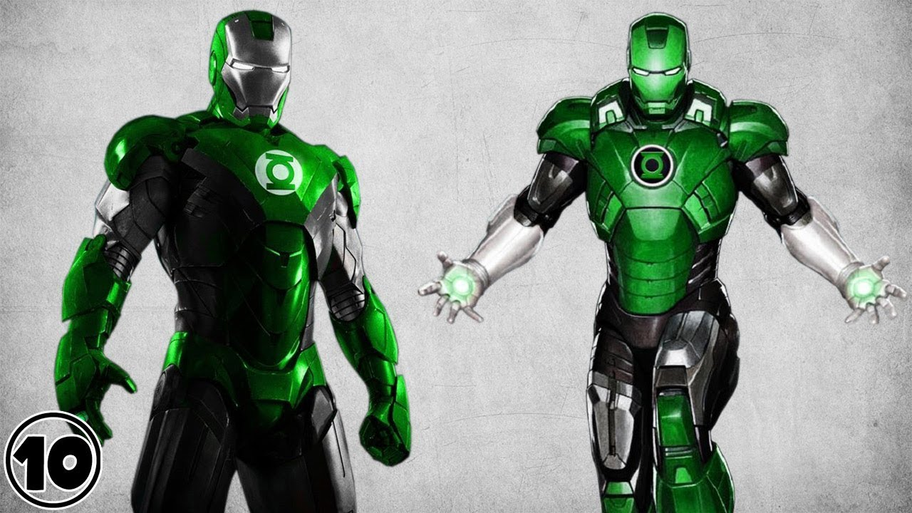 Top 10 Alternate Versions Of Iron Man Facts Iron Lantern Youtube